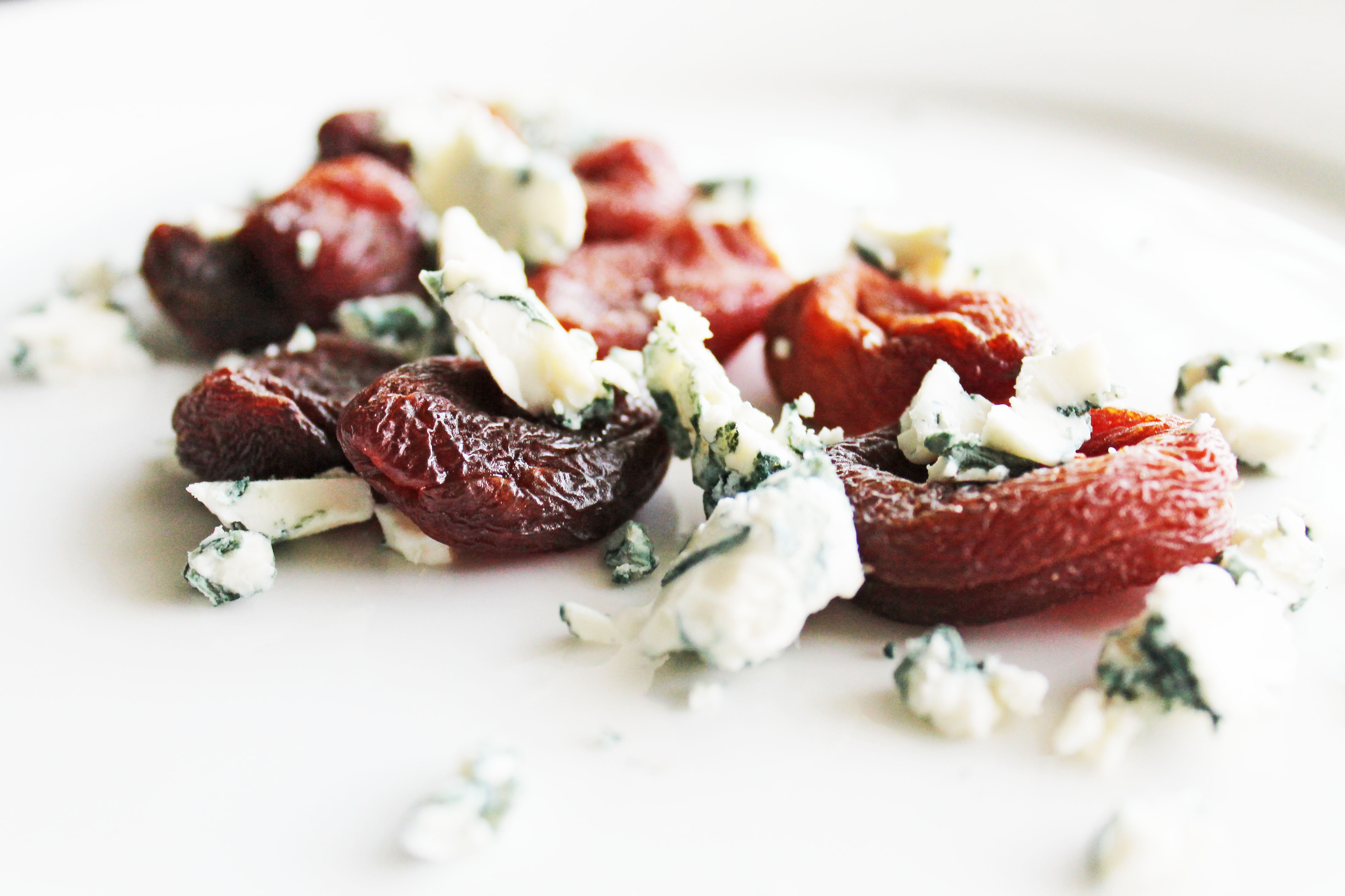 clean eating recipes - apricots and blue cheese 2