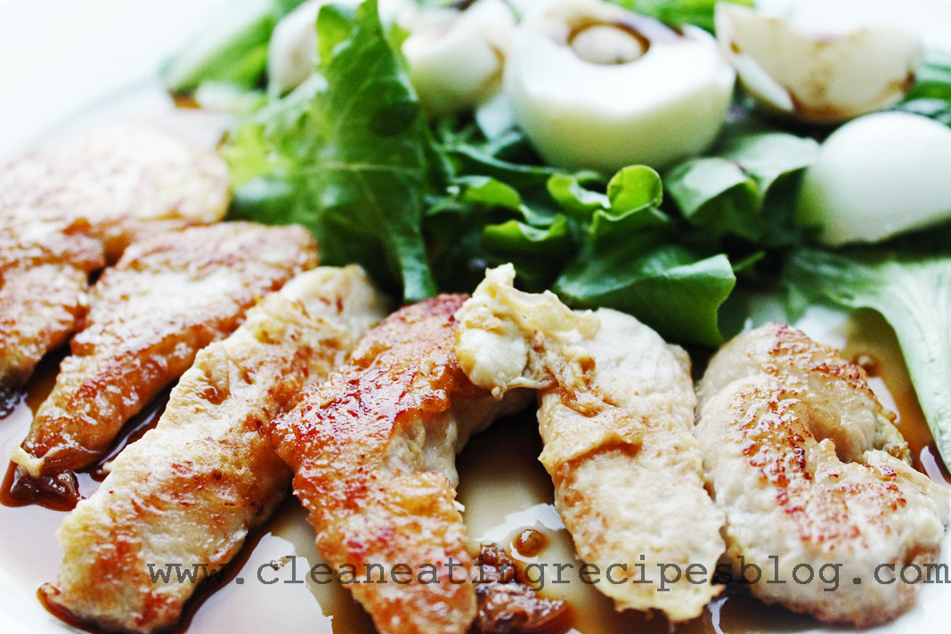 clean eating dinner recipe - flourless chicken strips 1