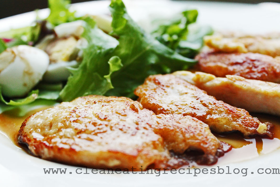 clean eating dinner recipe - flourless chicken strips 2