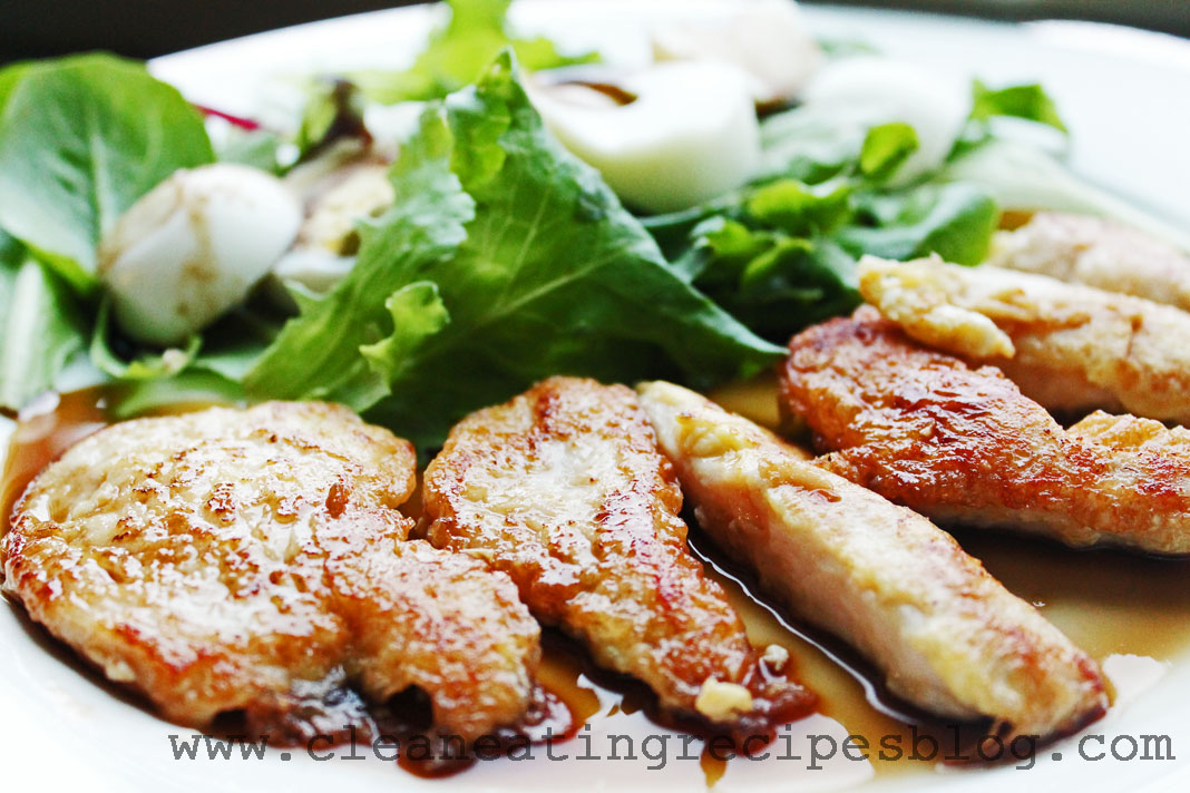clean eating dinner recipe - flourless chicken strips 5