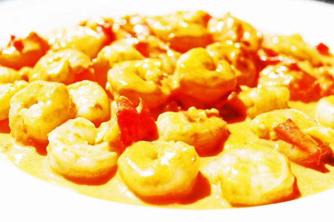 clean eating idea - creamy shrimp 2