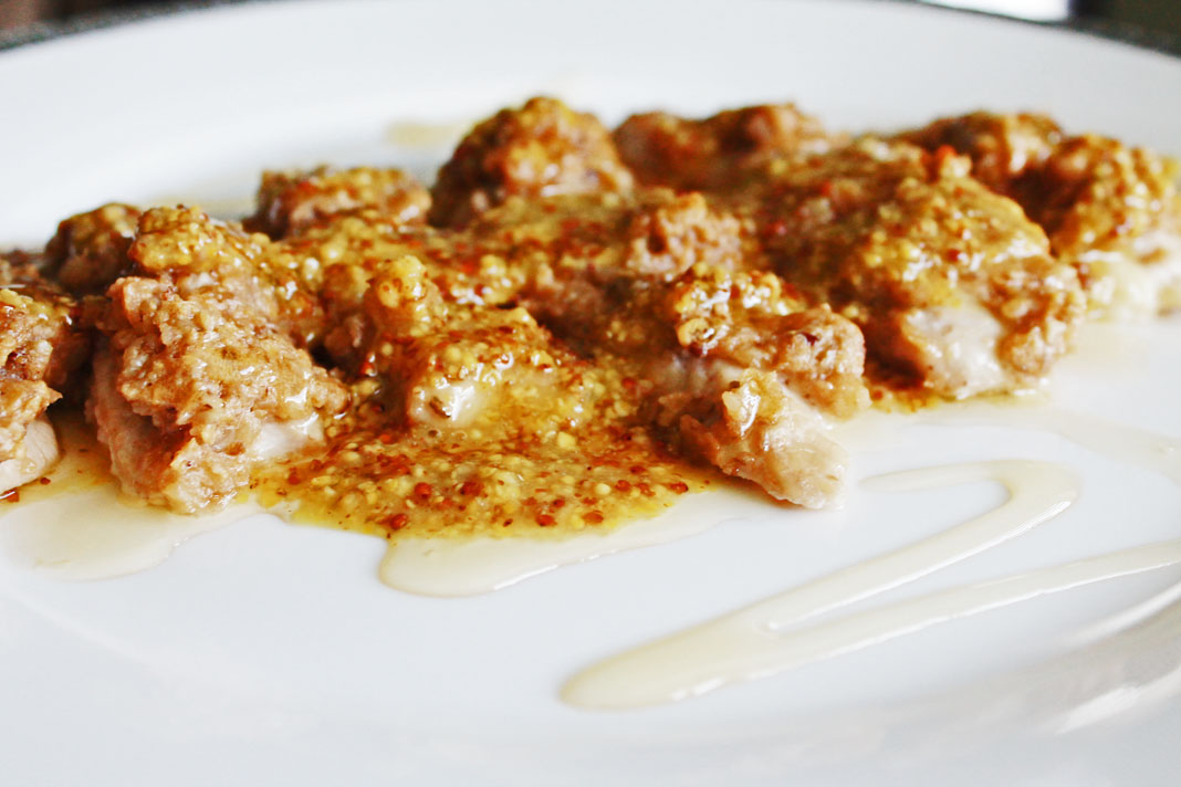 clean eating idea - honey walnut crusted chicken 2