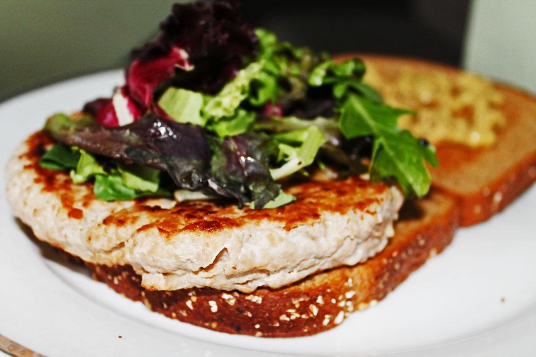 clean eating idea - turkey burger 3