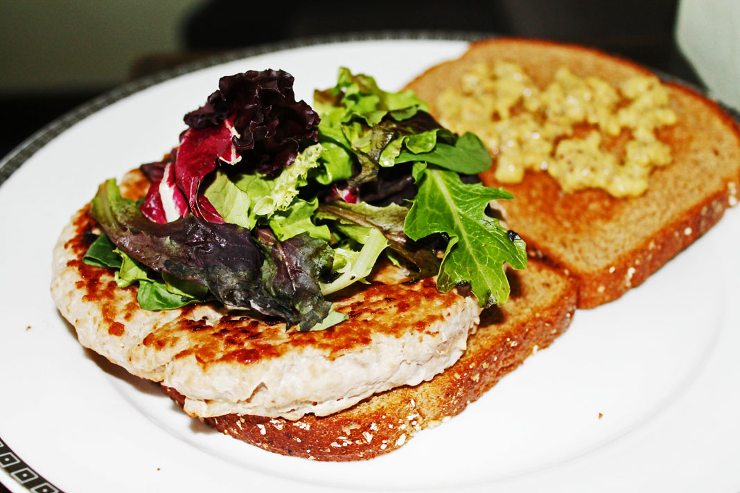 clean eating idea - turkey burger 5