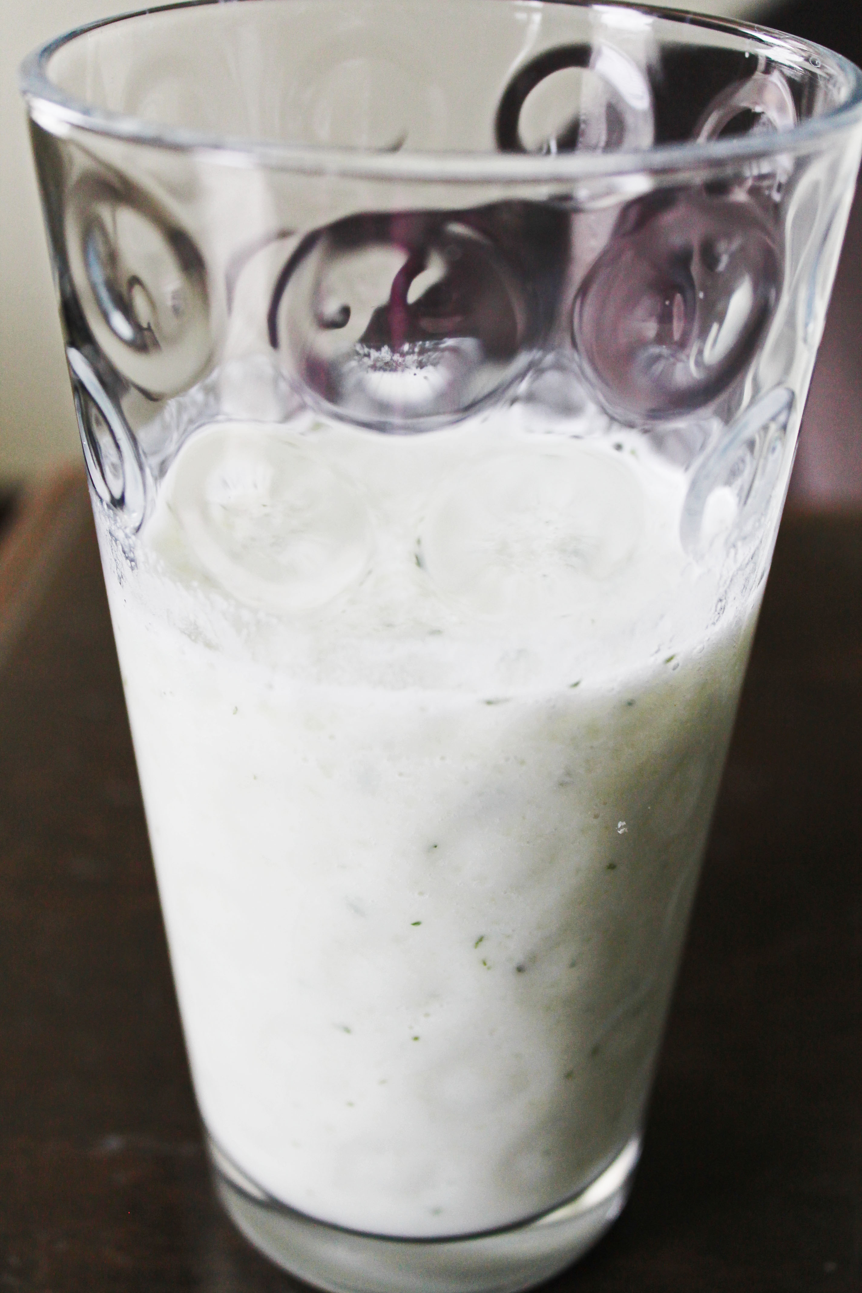 clean eating ideas - cucumber melon smoothie
