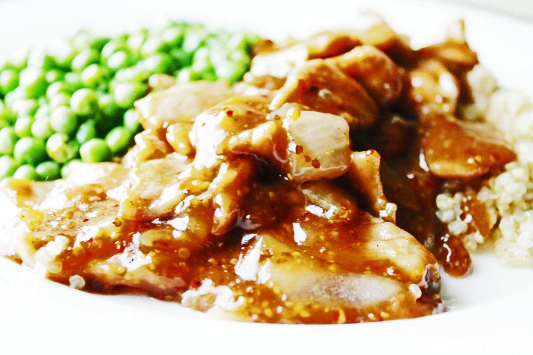 clean eating ideas - maple pork