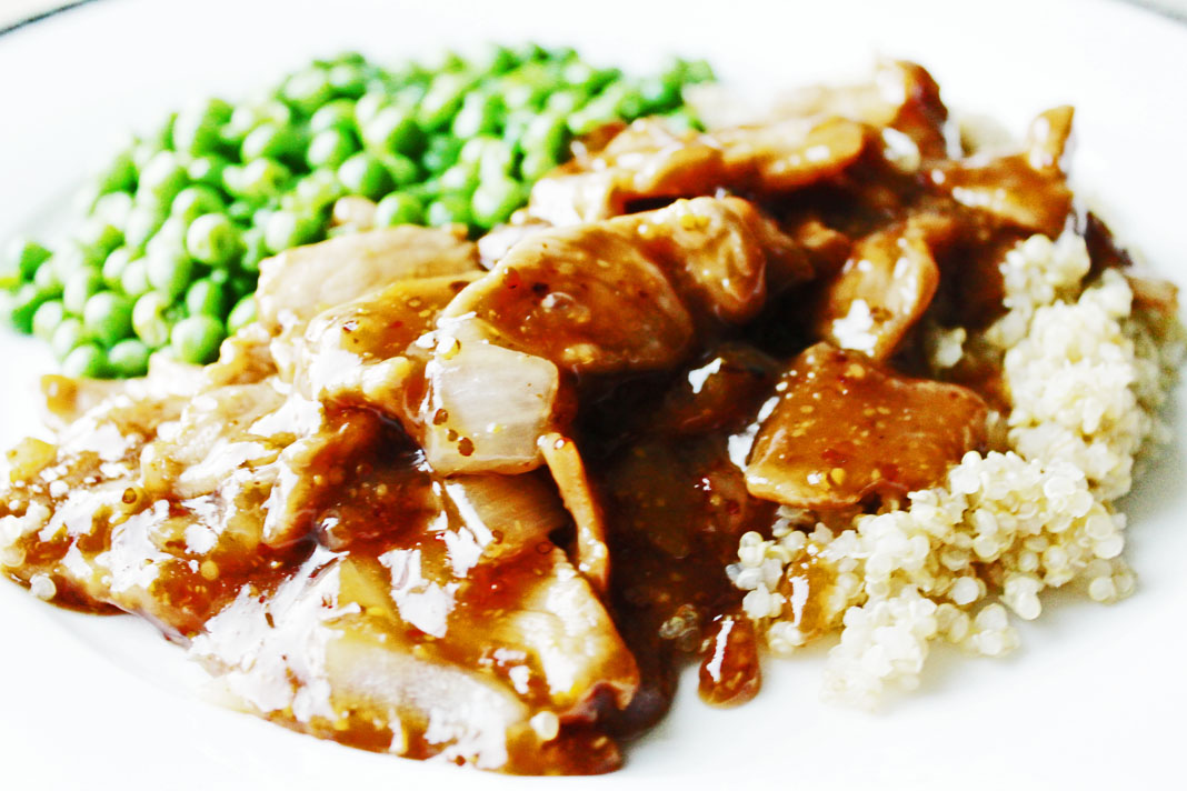 clean eating ideas - maple pork 3