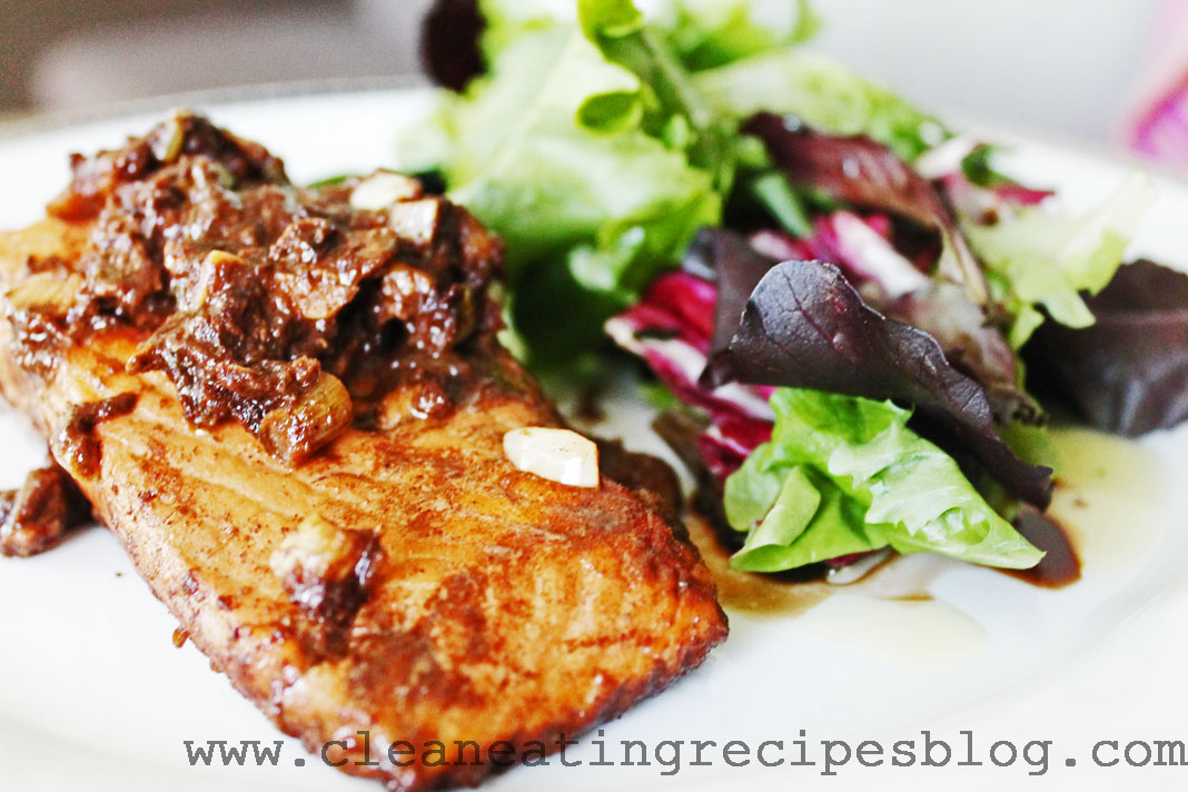clean eating recipe - 5 spice salmon 3