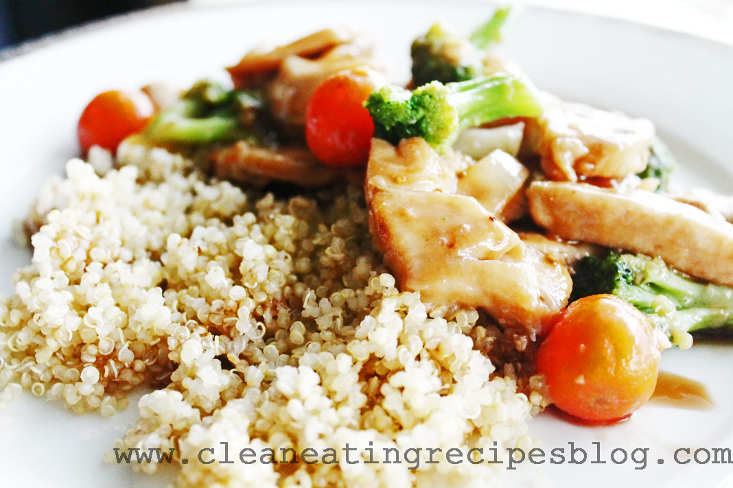 clean eating recipe - teriyaki chicken 1