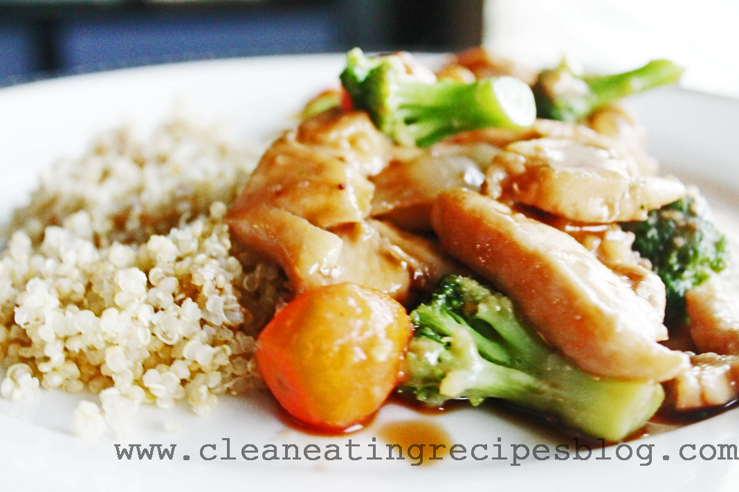 clean eating recipe - teriyaki chicken 2