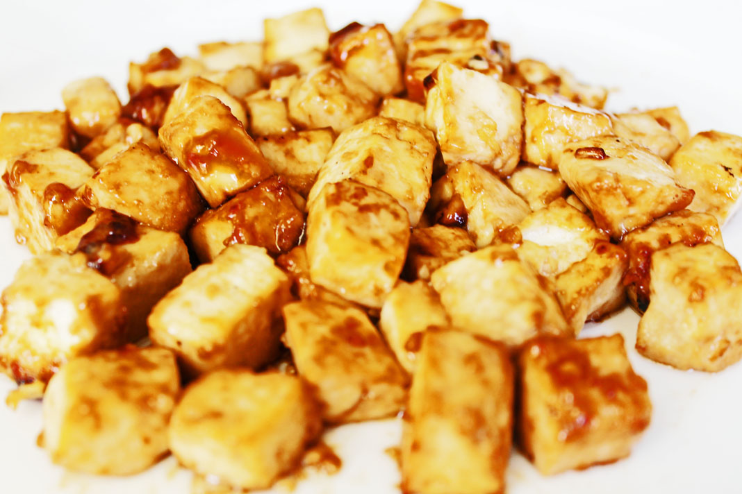 clean eating recipes - oven toasted tofu 1