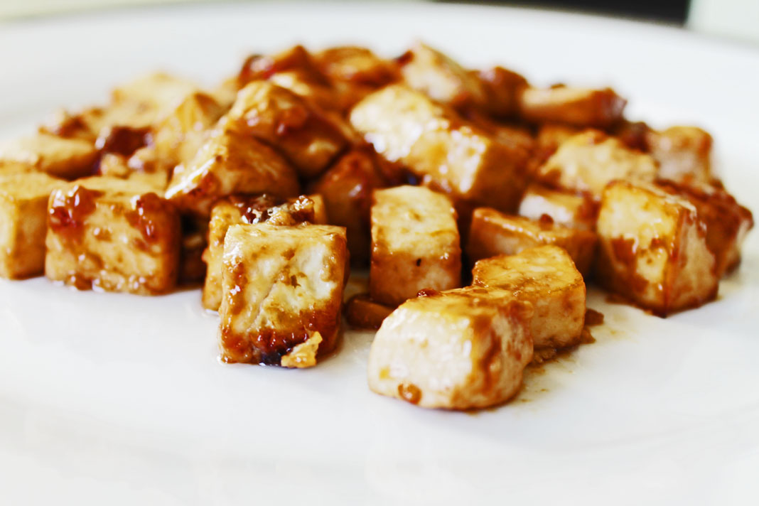 clean eating recipes - oven toasted tofu 3