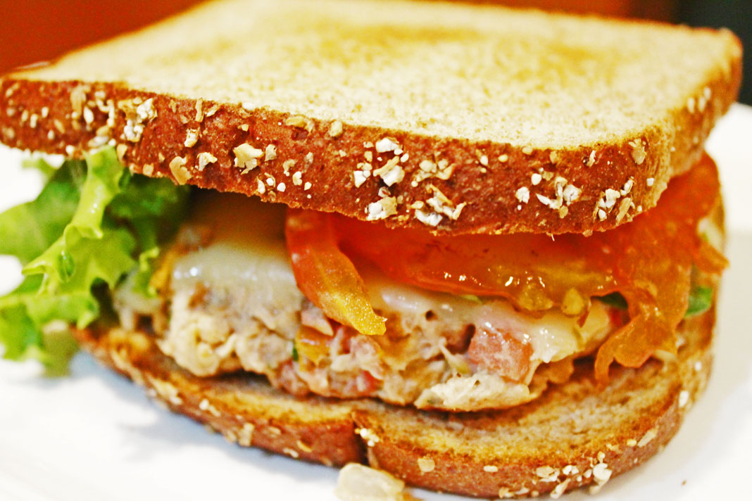 clean eating recipes - spicy tuna melt 3