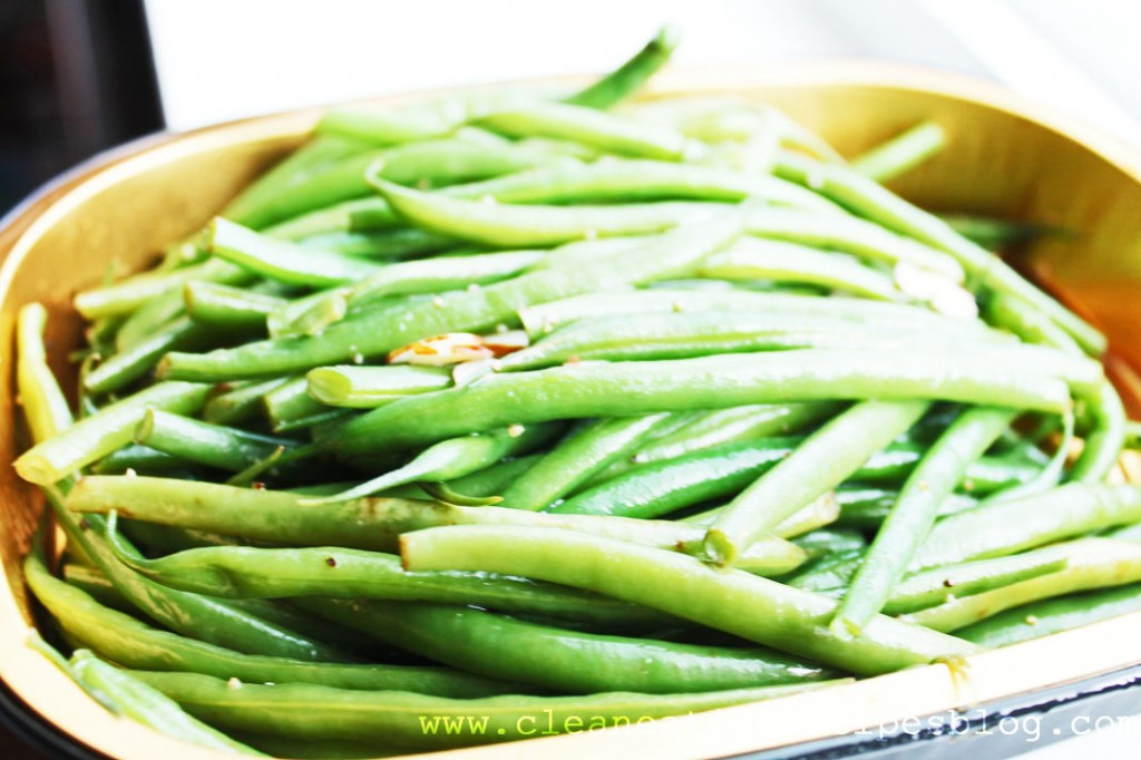 clean eating idea - green beans