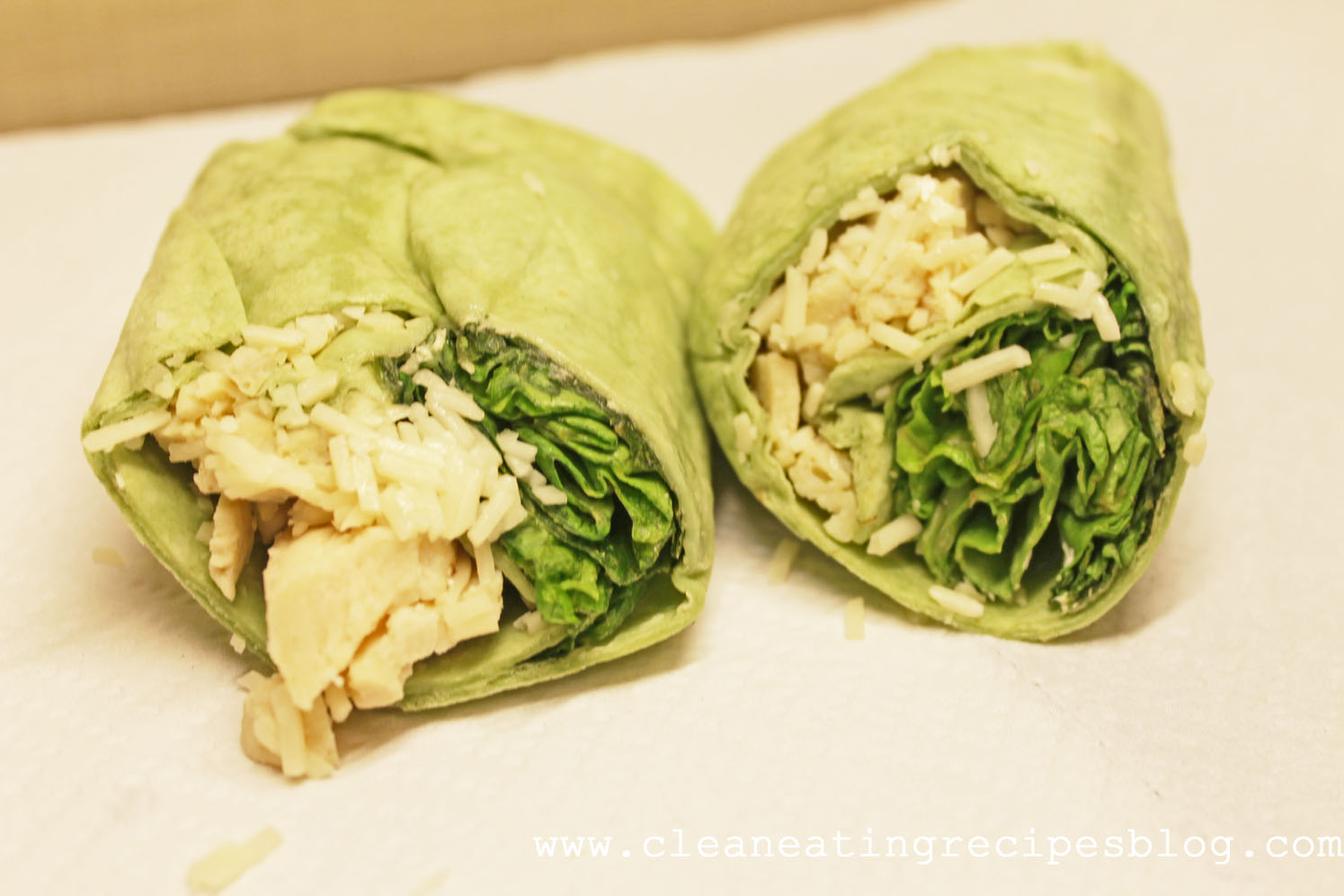 Clean Eating Recipe – Chicken Parm Wrap