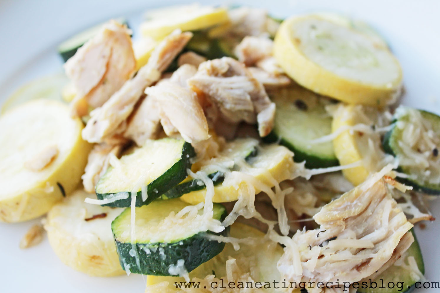 Clean Eating Recipe – Chicken, Zucchini and Parmesan Melt | Clean ...