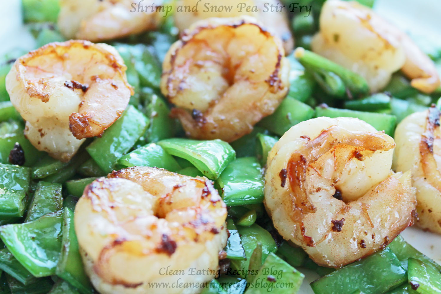 Clean Eating Recipe – Shrimp and Snow Pea Stir Fry