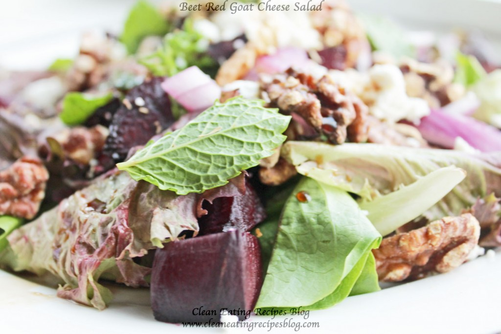 clean eating salad recipe