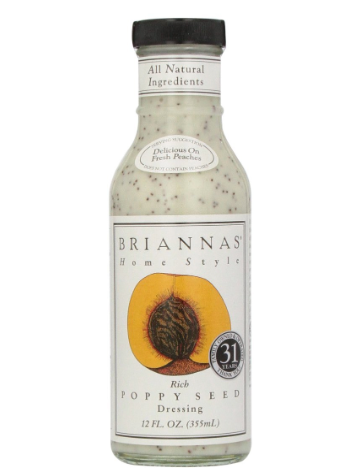 briannas poppyseed dressing