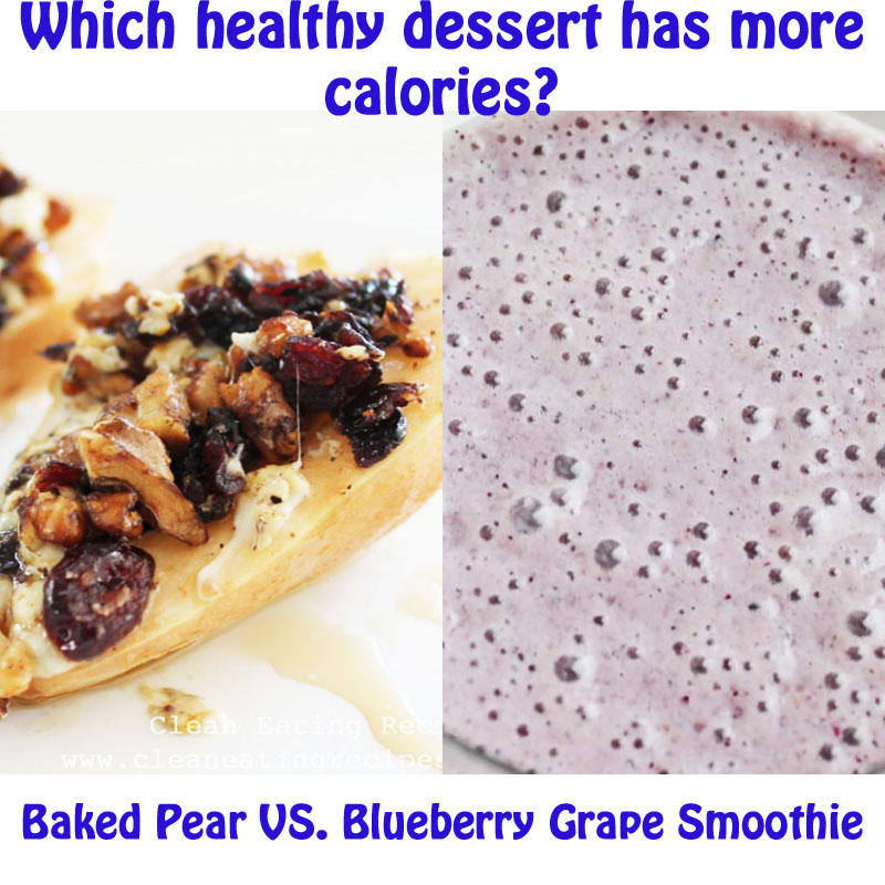 ... Blue Cheese and Toasted Walnuts // Recipe for Grape Blueberry Smoothie