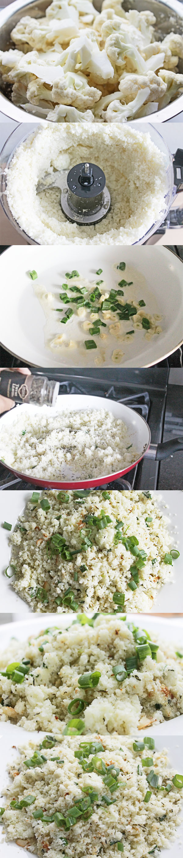 auliflower rice recipe for clean eating diet plan