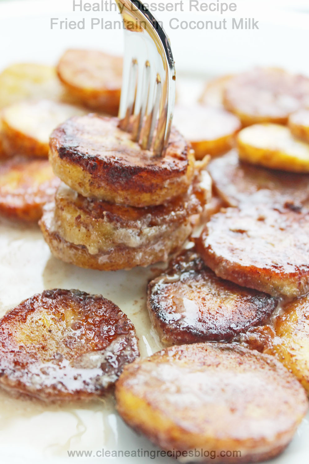 Healthy Dessert Recipe: Fried Plantain in Coconut Milk