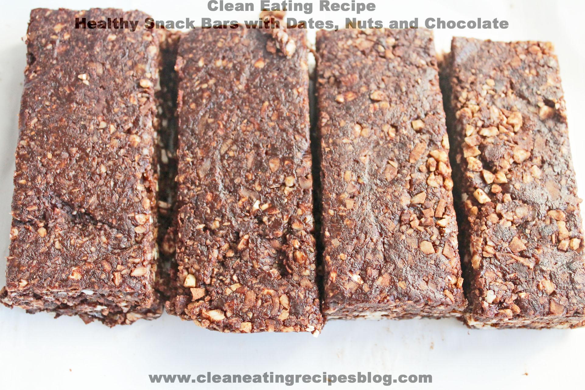 healthy snack bars | Clean Eating Diet Plan