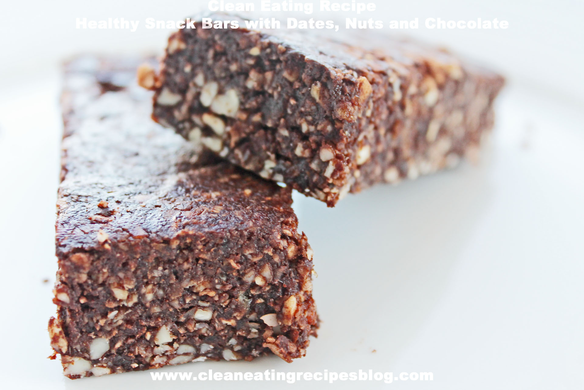 how to make healthy date bars