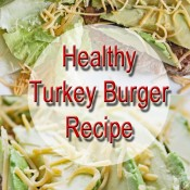 healthy turkey burger recipe