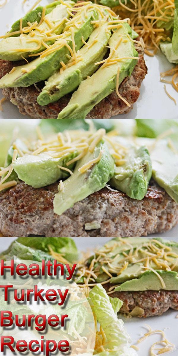 healthy turkey burger recipe