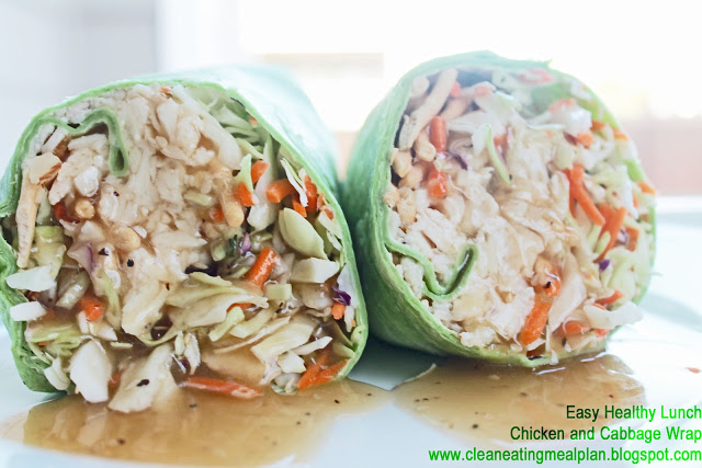 clean eating meal plan lunch