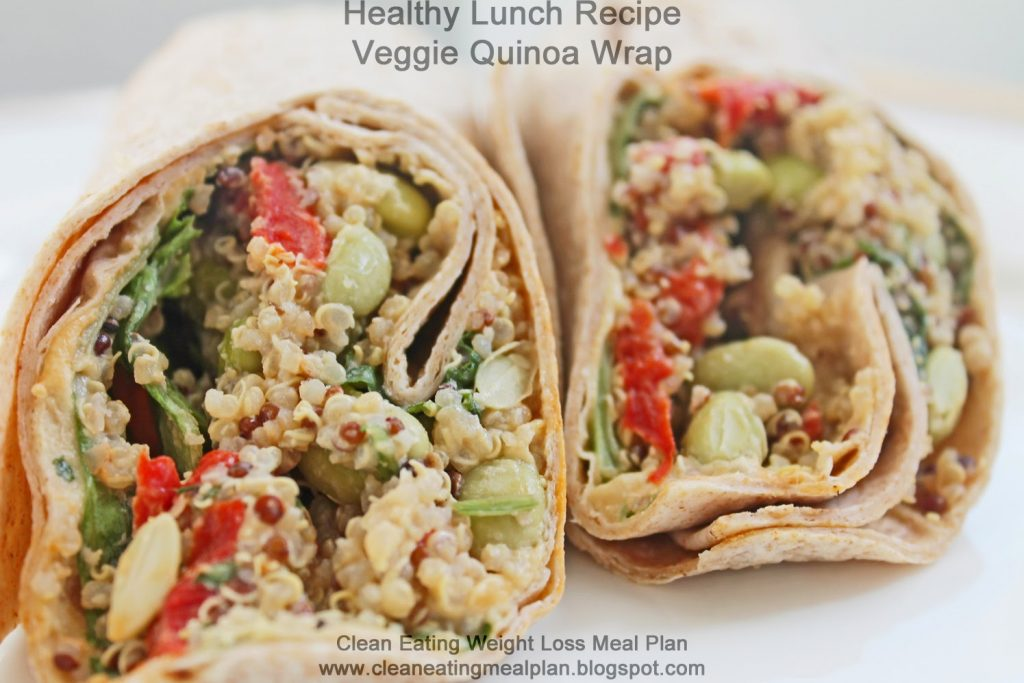 clean eating diet plan - monday - lunch