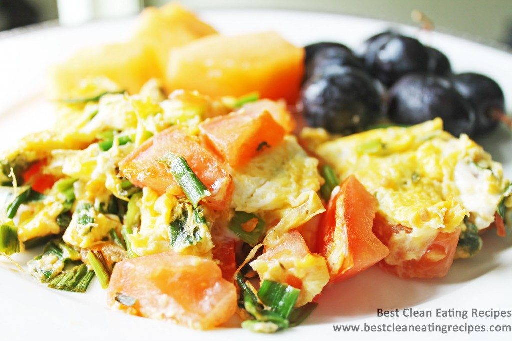 clean eating diet plan - tuesday - breakfast